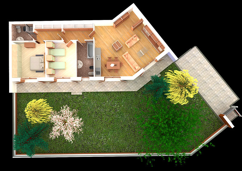 Grafica 3d for Arredi archicad